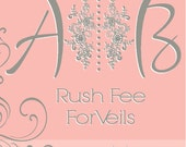 Rush Fee for Veils and Fascinators