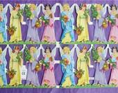 New Victorian Paper Scrap 16 Little Pretty Angels Die Cut Christmas