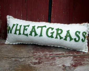 Wheatgrass Pillow