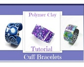 Polymer Clay Tutorial- Millefiori Cuff Bracelet Tutorial- Bracelet tutorial- Jewelry Making- Cuff Bracelet- Polymer Clay Jewelry