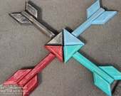 Wood Arrow - Small - Trendy Wall Art - Handmade - Wooden - Wall Hanging - Distressed - 11 Color Options - Signs - Arrows - Sign - Home Decor