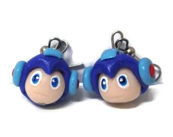 SALE Mega man Earrings