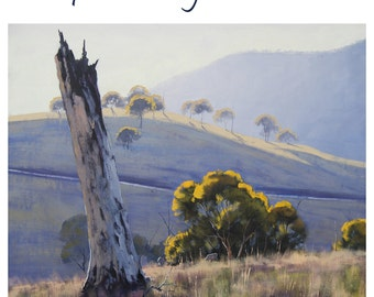 Oil painting Summer Landscape Painting Tree paintings by  Graham Gercken