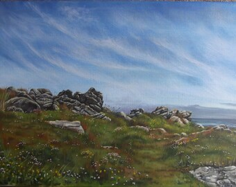 Coastal Walk, Alderney - Original Painting
