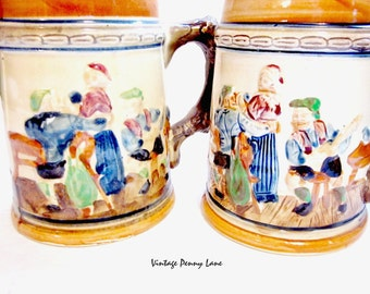 Ceramic Mugs / Japan, Vintage German Beer Steins