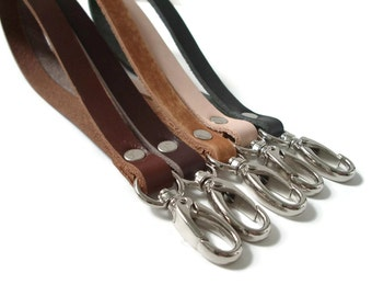 Leather Wrist Straps, Detachable leather wrist straps