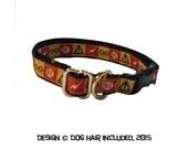Harry Potter-inspired breakaway cat collar, and regular dog collar
