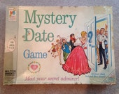 Vintage 1965 Mystery Date Game