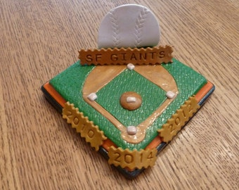 SF Giants Business Card Holder