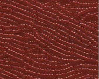 Czech Seed Beads 6/0 Transparent Ruby Red 31712 , Transparent Glass Seed Beads, Size 6/0 Seed Beads, Jablonex Seed Bead, 4mm Seed Beads