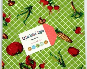 Eat your Fruits n' Veggies: 42 squares