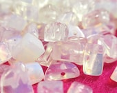Opalite Moonstone AAA Chip Chunk Nugget Pebble Beads 3-7mm Drilled Rainbow Iridescent  A5
