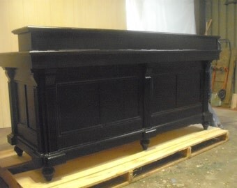 French Antique Repro Jet Black