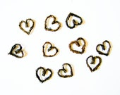 "1"" Grapevine Twig Hearts, Wedding Decorations, Wreaths, Scrapbooking,Card Making,Art Projects"