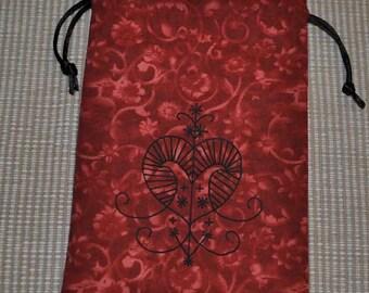 Erzulie voodoo tarot bag