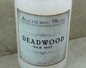 Deadwood - Hair Mist - Detangler & Styling Primer - Wild Honey, Golden Amber, Worn Brown Leather