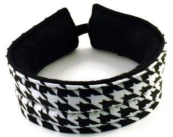 Head Wrap Head Band Microwave Hot Cold Pack, Heat for TMJ Jaw Pack, Headaches, Heating Pad, rice flax, Ear ache Heating Pad Headband
