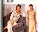 Butterick Women Skirt Size 8-10-12 Pattern Retro Evening Elegance