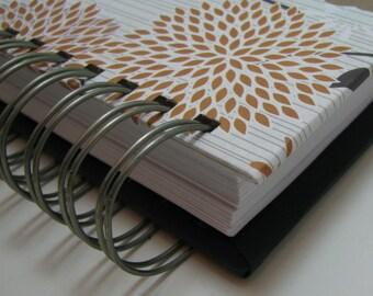 Planner/ Agenda/ Weekly Planner/ Organizer Planner/ Weekly Agenda/ Unique Planners/ Organizer/Wirebound Planner/ To Do List/ Gold Floral
