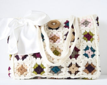 Crochet shoulderbag Enya