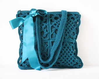Crochet shoulderbag Pippa