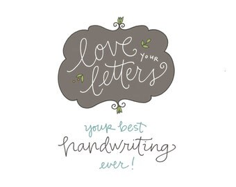 Love Your Letters Workshop 2.0: handwriting workshop, self-paced, PDF