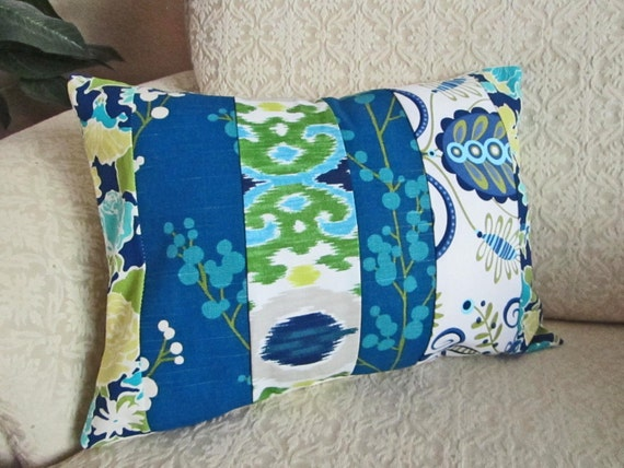 Shabby chic bohemian patchwork pillows