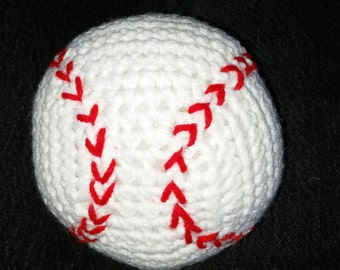 Crocheted Baseball