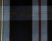 Black Blue Yellow Red Plaid Fabric Apparel Home Decorating Quilt Drapery