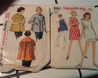 Vintage maternity  woman  patterns