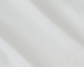 White Cotton Fabric, Plain White Pure Cotton Fabric patchwork and crafts