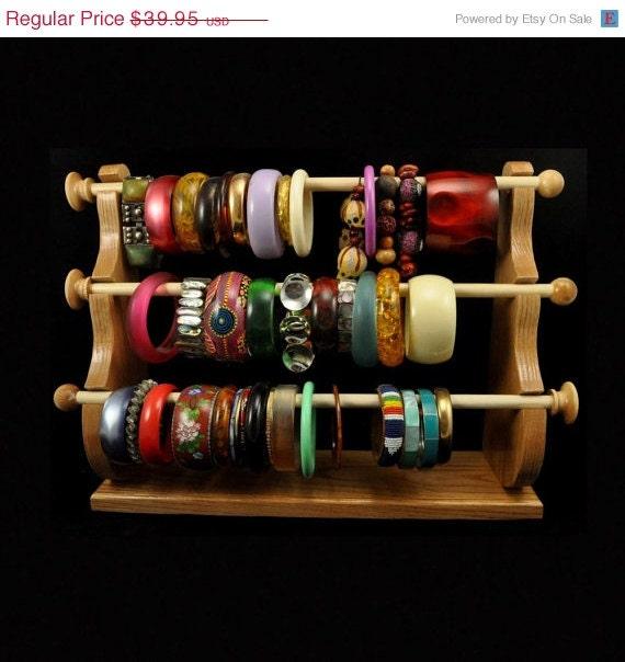 Standing bracelet holder organizer storage by spiritranchcreations - On Sale Standing Bracelet Holder Organizer By