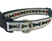 Bowtie Dog Collar, Harness, Leash or Martingale