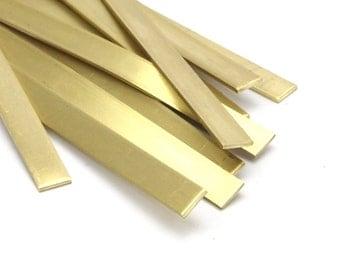 Bracelet Stamping Blank, 5 Raw Brass Bracelet Stamping Blank Bangles ( 6x145x0.80mm) D251