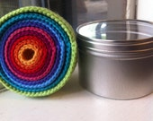 Rainbow Woolen Nesting Bowls