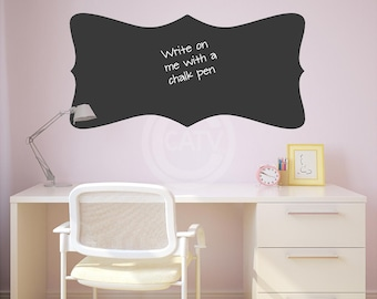 Chalkboard Decal #3 Wall Decal Self Adhesive large vinyl lettering wall sticker kitchen mud room office