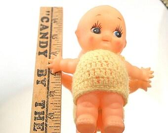 Vintage Vinyl Kewpie Doll Japan Little Side Look Dolly