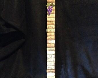 Slim-it-down cork board