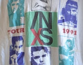 1991 INSX tour shirt size xlarge / 42 chest