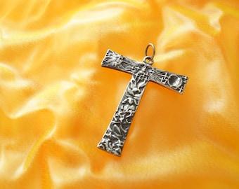 Franciscan Tau Cross Sterling silverTau cross of St Francis Cross silver 925