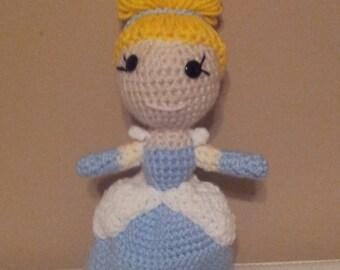 Crocheted Cinderella Doll