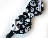 Skull Print Sleep Mask