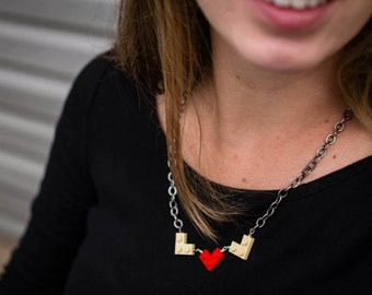 Made To Order Custom Lego Necklace