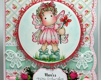 Fairy Godmother Magnolia Tilda All Occasion Card