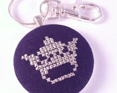 SALE! Crown stitched key chain