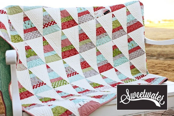 Sale Holly S Tree Farm Quilt Kit By Sweetwater For
