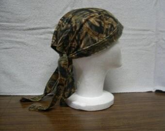 Mossy Oak Shadow Grass Skull Cap Do-Rag NEW