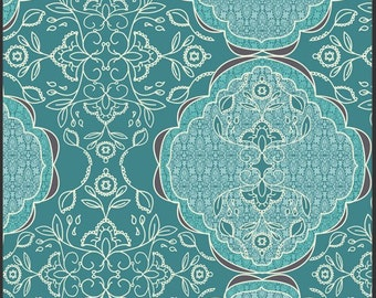 Art Gallery LillyBelle Fabric Lacis Blueberry BTY
