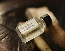 Palo Santo + Amyris™ - Strange Companion Blend™ - Natural Perfume Oil with sweet and spicy woods