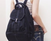 New Year SALE - 20% OFF Essential in Black / Backpack / Satchel / Rucksack / Diaper Bag / Tote / Women / For Her / Gift Ideas